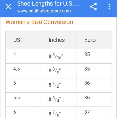 shoes healthy feet  european shoe size chart poshmark