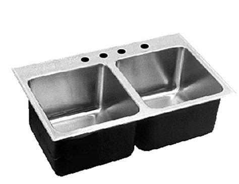 stainless steel deep bowl service sinks where to buy just dlx 2233 a gr 3 deep double bowl 18