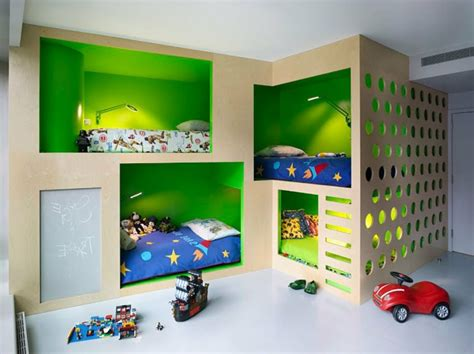 Wandgestaltung Kinderzimmer Bett by 120 Originelle Ideen F 252 Rs Jungenzimmer Archzine Net