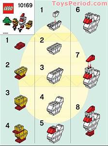 Lego 10169 Chicken And Chicks Set Parts Inventory And