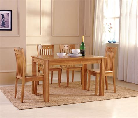wooden dining room table sets decobizz