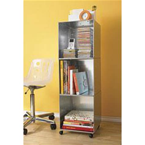 galvanized qbo steel office tower with casters the