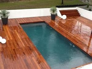Bois Pour Terrasse Piscine : concept bois piscine et terrasse en bois ~ Edinachiropracticcenter.com Idées de Décoration