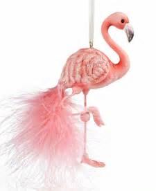 kurt adler christmas ornament flamingo holiday lane macy s katrena pittman booth anderson