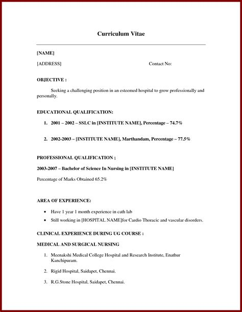 examples of work experience on a resume resume for high school students with no experience sample