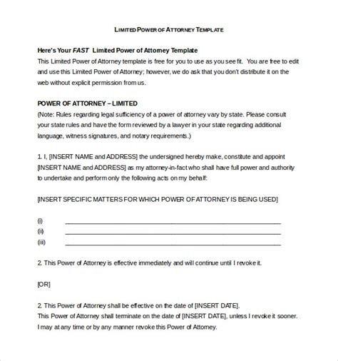 power of attorney form uk free 46 uk power of attorney template 11 power of attorney
