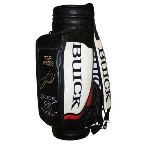 Lot Detail - Buick Tiger Woods Two-Strap Golf Bag