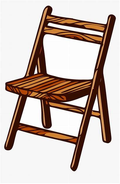 Chair Clipart Wooden Transparent Legno Sedia Svg