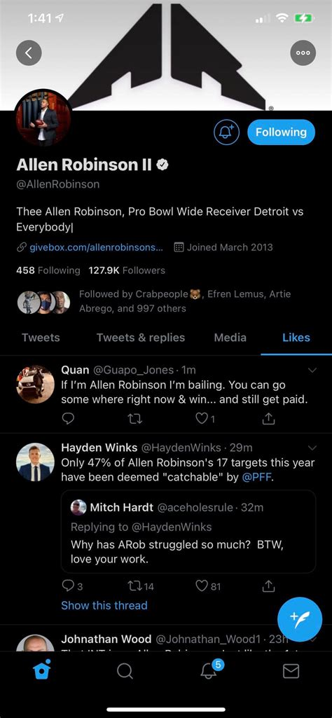 Does Allen Robinson Now Want Out Of Chicago?