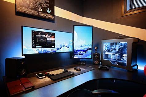 pc de bureau gaming un espace détente bureau gaming de fou furieux