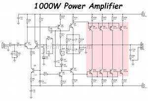1000w Power Amplifier 2sc5200 2sa1943