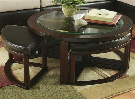 Coffee Tables : Coffee Table With Chairs Underneath