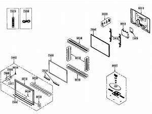 Samsung Hpt5054x  Xap Plasma Television Parts