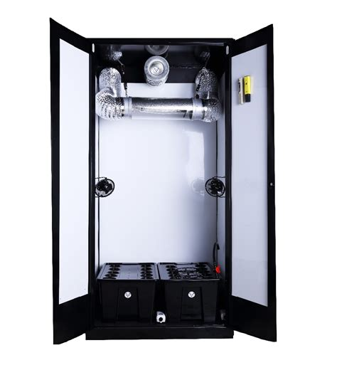 Hydro Closet by Indoor Garden Steel Stealth All In One Closet Hydroponic