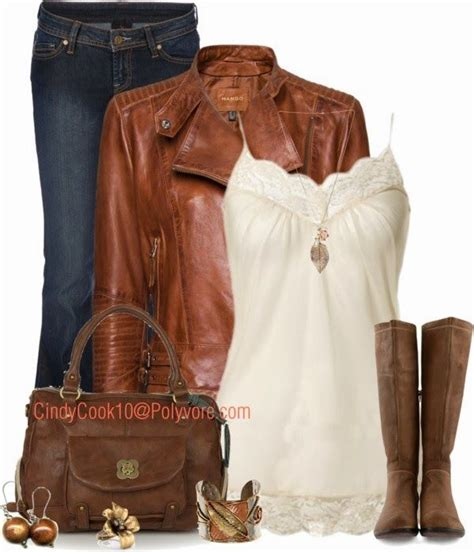 Casual Leather Jacket Outfit Ideas