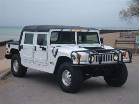 automobile air conditioning service 2000 hummer h1 on board diagnostic system find used 2000 hummer h1 6 5l turbo diesel open top low reserve price in hubbard ohio united