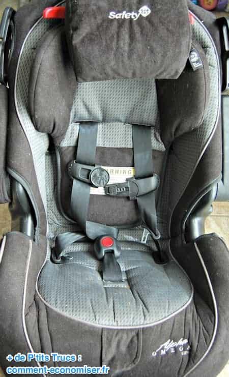 nettoyer siege tissu voiture comment nettoyer un siège auto facilement et rapidement