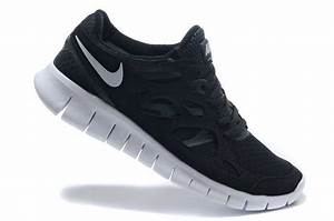 Nike Free Run 2 Womens Black Gray Running Shoes Free ...