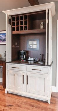 retractable kitchen cabinet doors 1000 ideas about bar hutch on wine storage 4805