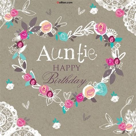 Happy Birthday Auntie Images Birthday Wishes For