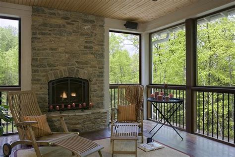 screened porch with fireplace 17 best images about fireplace ideas for our screened