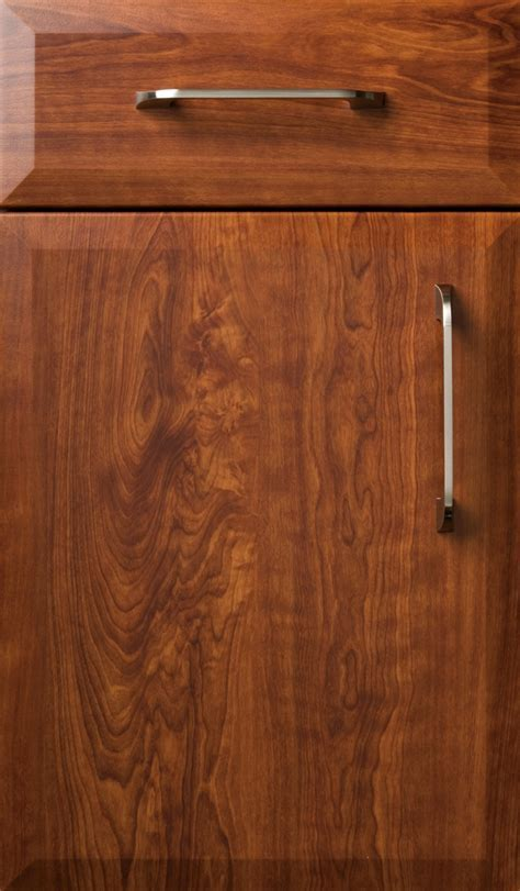 Novara Dark Cherry Satin   Plain & Fancy Cabinetry