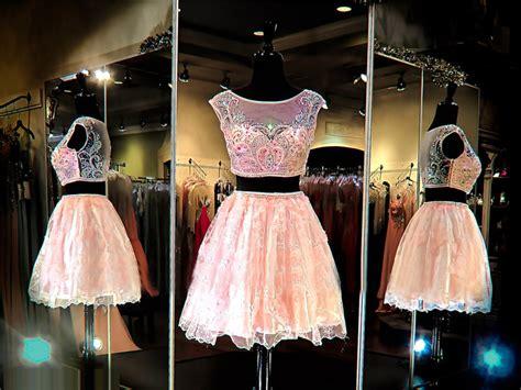 2 Piece Prom Dress,short Prom Dress,junior Prom Dress