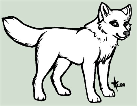 wolf template puppy or chibi wolf template by stelliformed on deviantart