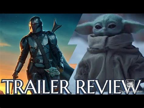 The Mandalorian Season 2 - Official Trailer Review - YouTube