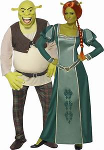 Déguisement Couple Célèbre : d guisement couple shrek et fiona halloween couple halloween costumes family halloween ~ Melissatoandfro.com Idées de Décoration