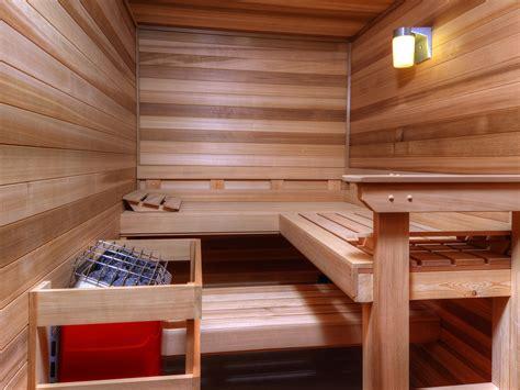 Custom Saunas In New Homes  Stauffer & Sons Construction