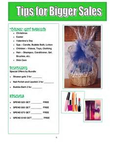 spa gift basket ideas avon home party plan