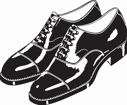 Shoes Clipart Vector Oxford Oldcuts