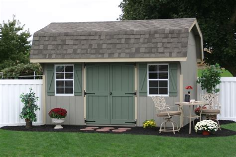 10x20 saltbox wood storage shed classic garden sheds from the amish in lancaster pa
