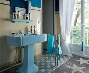 Relooking Salle De Bain Avant Apres : relooking vintage d 39 une salle de bains ~ Zukunftsfamilie.com Idées de Décoration