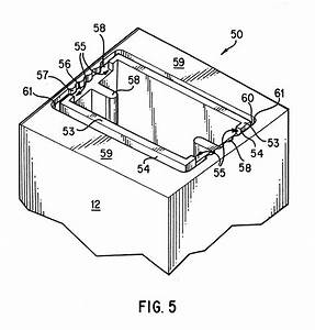 patent us6322200 decoupled nozzle plate and electrical With flexible circuit