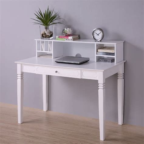 elegant office desk accessories elegant writing desk with hutch modern home office