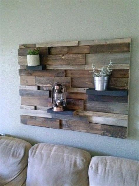 fixer palette en bois sur le mur meuble pinterest