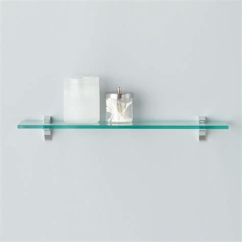 glass shelf glass shelf clip kits the container store
