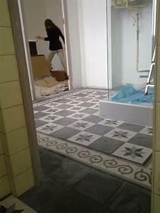 Carreaux Adhesif Salle De Bain : carreaux salle de bain la maison de lili ~ Melissatoandfro.com Idées de Décoration
