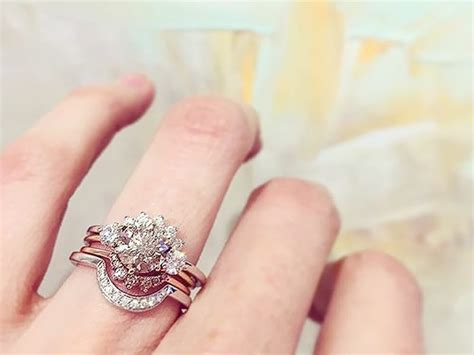 the it engagement ring trend of the season who what wear