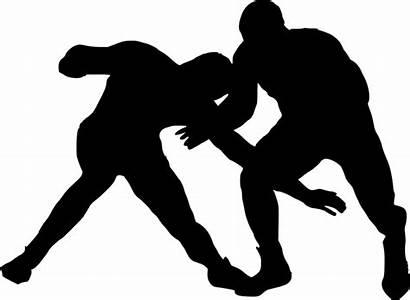 Wrestling Silhouette Transparent Sport Onlygfx Px Pngimg