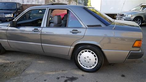 Only two owners since new. 1989 Mercedes Benz 190E 2.6 for sale in Marrickville NSW - YouTube