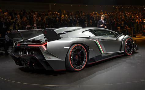 Lamborghini's New .9 Million Veneno Supercar