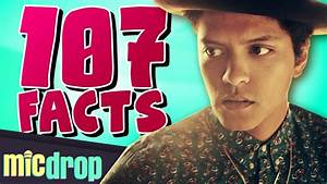 107 Bruno Mars Music Facts You Should Know Ep 25