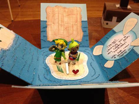greatest zelda birthday card   time kotaku