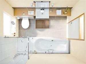 Kleine Badezimmer Einrichten : kleines bad mit dusche und badewanne ~ Eleganceandgraceweddings.com Haus und Dekorationen