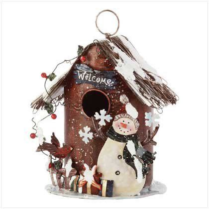 christmas birdhouse decorations google search winter