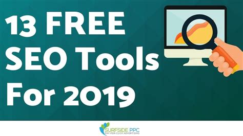 Search Optimization Tools by 13 Free Search Engine Optimization Tools To Use In 2019
