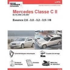 Mercedes Classe C Essence : revue technique automobile mercedes site officiel rta par etai revue technique auto ~ Maxctalentgroup.com Avis de Voitures